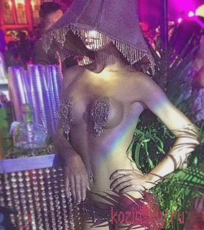 Реальная проститутка Надюня